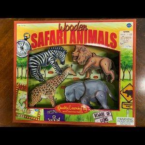 Wooden Safari Animals